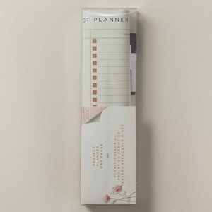 Peel & Stick Project Dry Erase Planner +marker nwt
